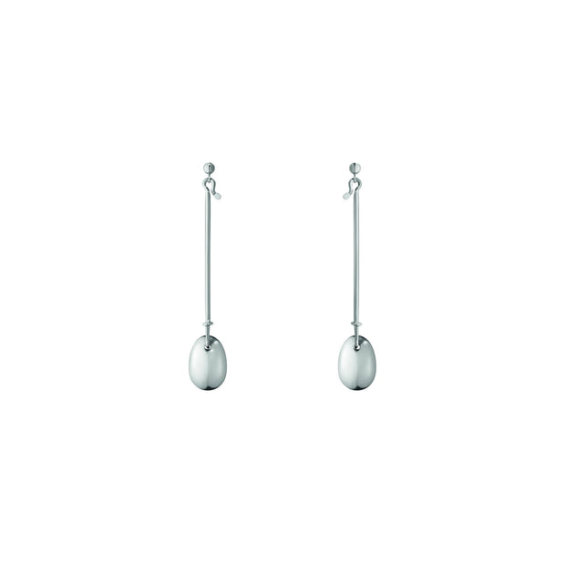 Georg Jensen Dew Drop Earrings in Sterling Silver - Hamilton & Inches
