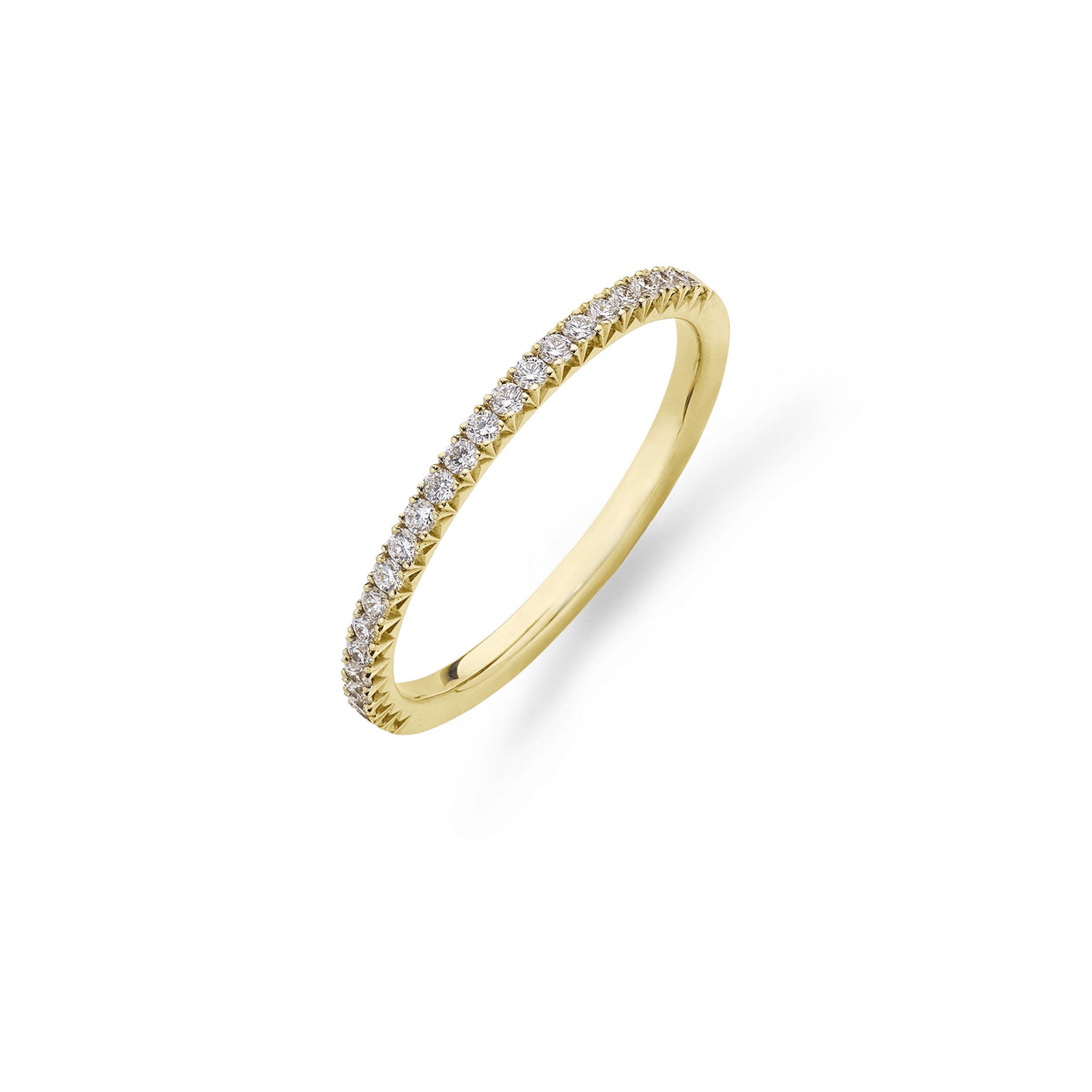 Diamond Eternity Ring in 18ct Yellow Gold-Hamilton & Inches