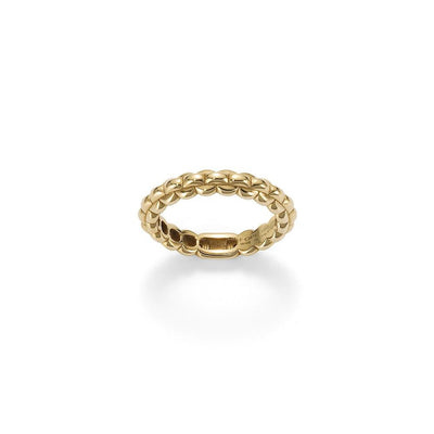 FOPE Eka Tiny Ring in 18ct Yellow Gold - Hamilton & Inches