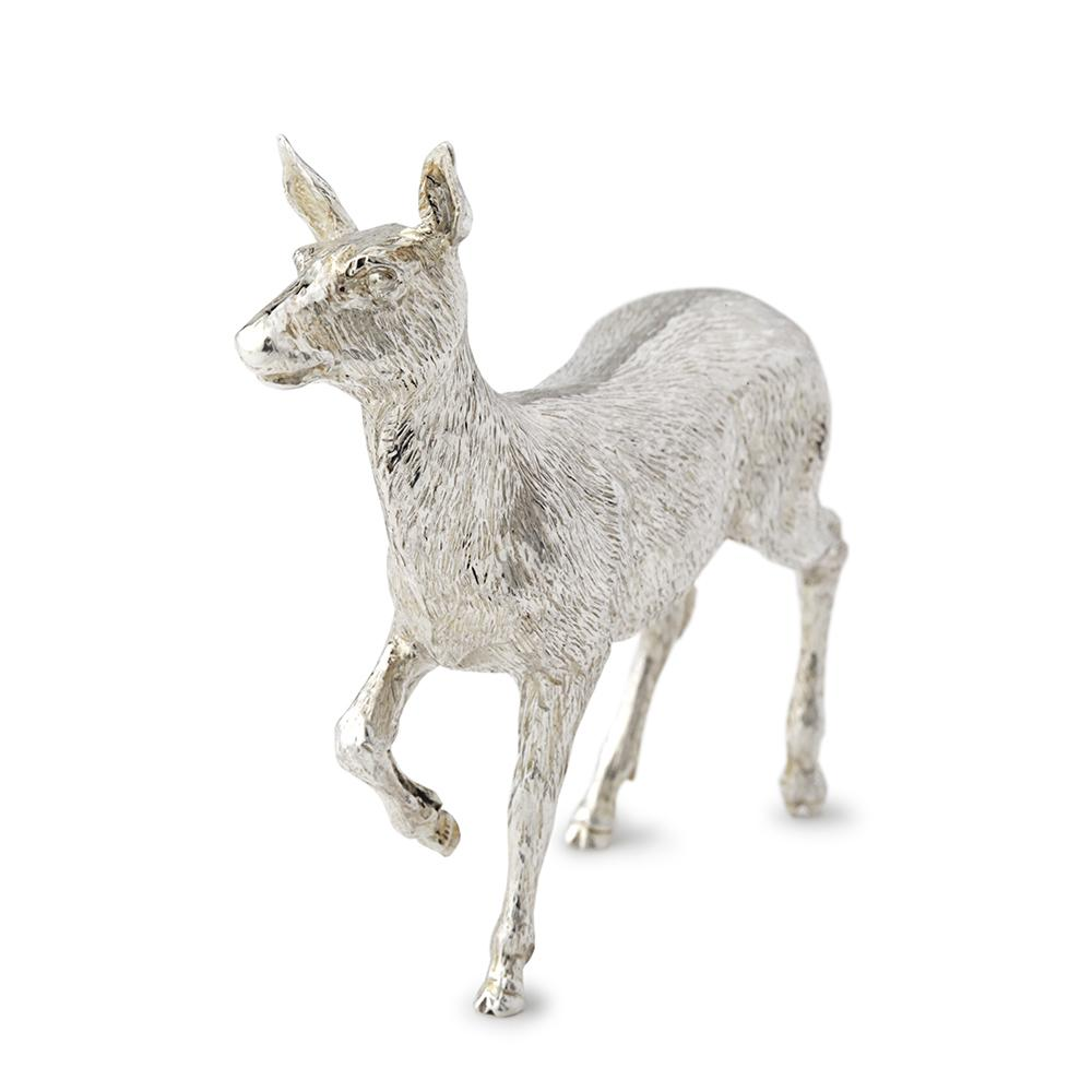 Sterling Silver Red Deer Hind - Hamilton & Inches