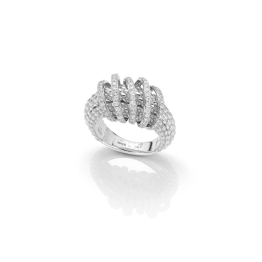 FOPE Mialuce Ring in 18ct White Gold-Hamilton & Inches