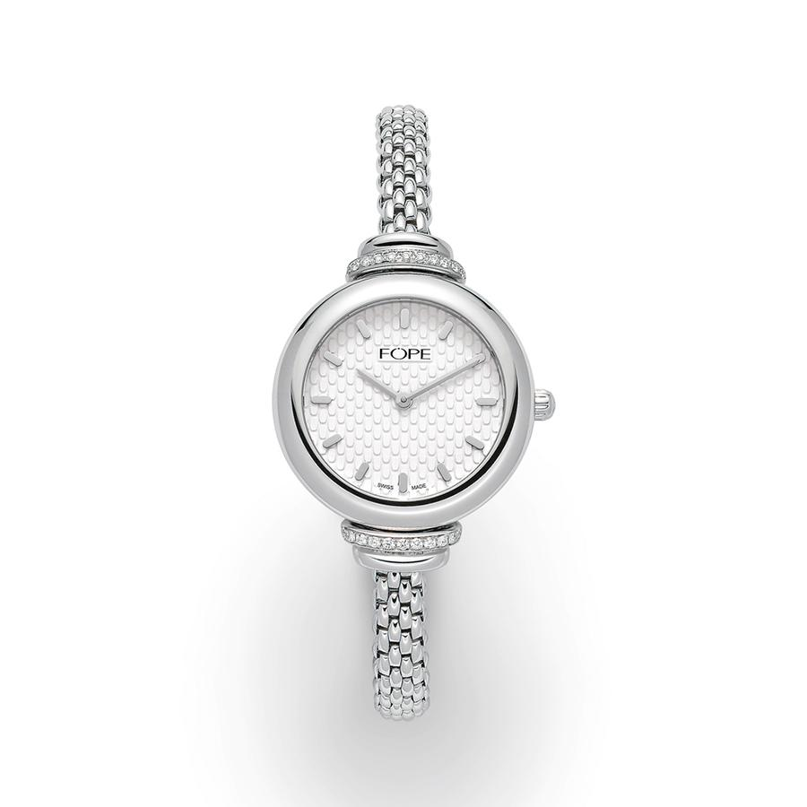 LadyFOPE Watch in White Gold-Hamilton & Inches