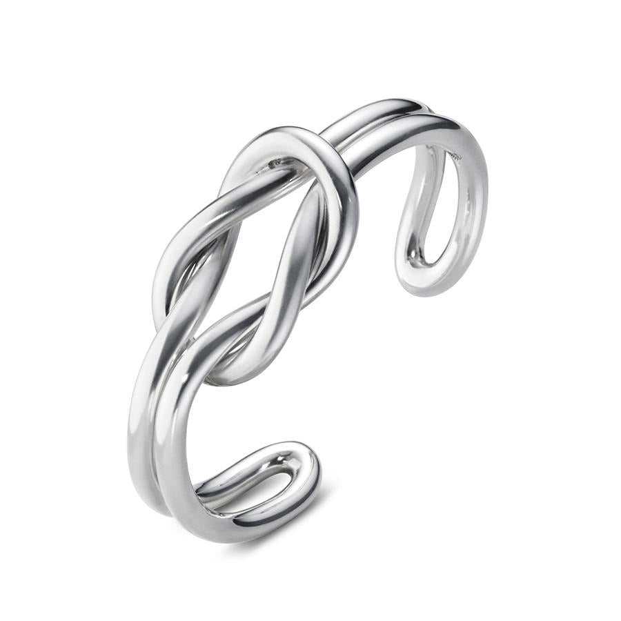 Georg Jensen Love Knot Bangle in Sterling Silver - Hamilton & Inches