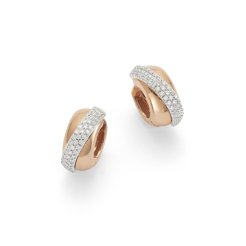 FOPE Vendome Earrings in Rose Gold-Hamilton & Inches