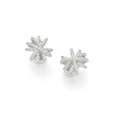 FOPE MiaLuce Diamond Earrings in White Gold - Hamilton & Inches