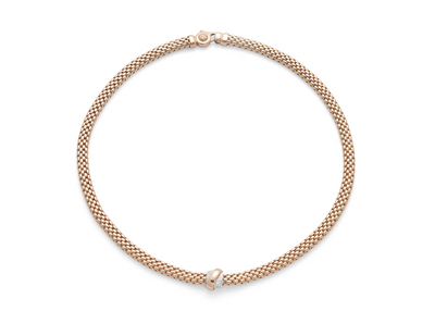 FOPE Vendôme Necklace in 18ct Rose Gold - Hamilton & Inches