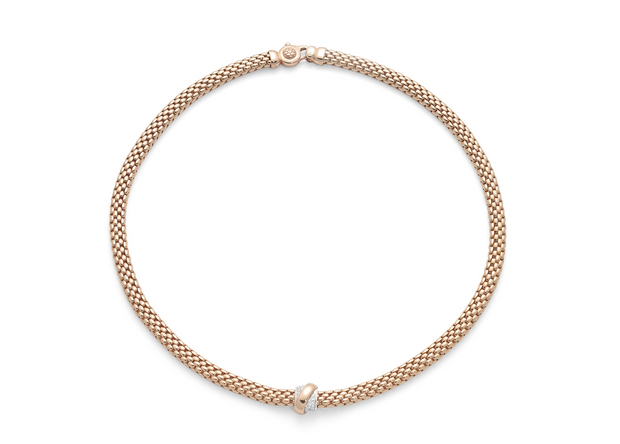 FOPE Vendôme Necklace in 18ct Rose Gold
