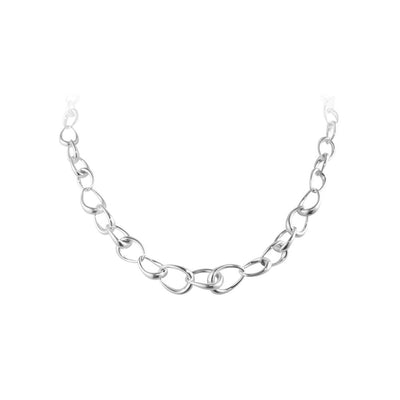 Georg Jensen Offspring Necklet in Sterling Silver-Hamilton & Inches