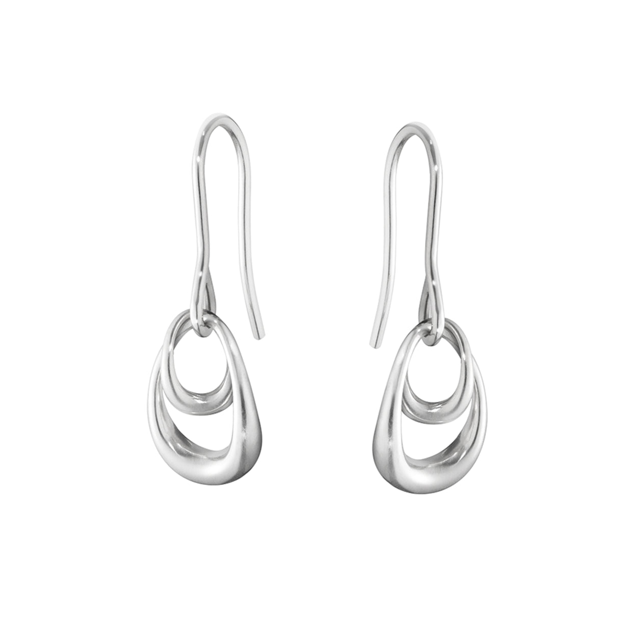 Georg Jensen Offspring Earrings in Sterling Silver - Hamilton & Inches
