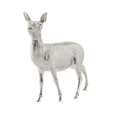 Sterling Silver Red Deer Small Standing - Hamilton & Inches