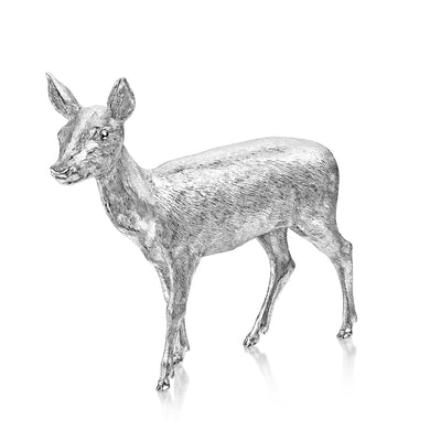 Red Deer Hind in Sterling Silver-H&I-Hamilton & Inches