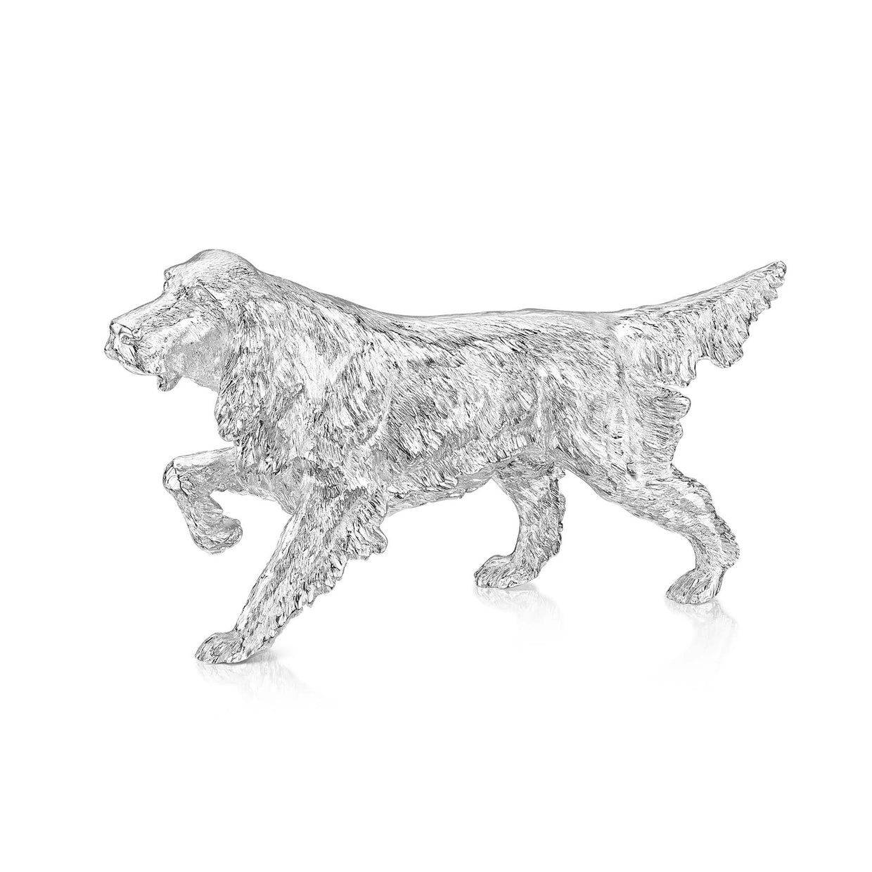 Sterling Silver Red Setter Dog - Hamilton & Inches