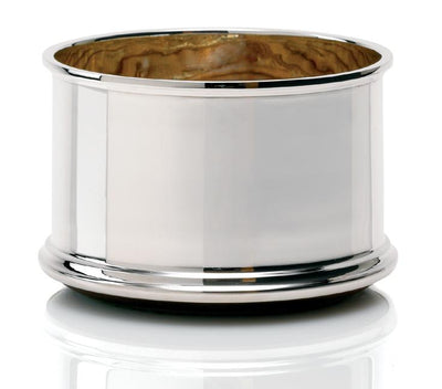 Sterling Silver Tall Plain Coaster - Hamilton & Inches