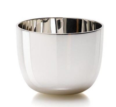 Sterling Silver Medium Plain Tumble Cup - Hamilton & Inches