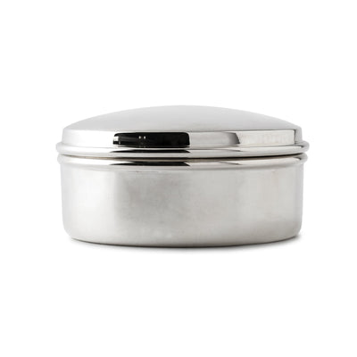 Sterling Silver Round Trinket Box