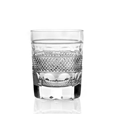 Cumbria Crystal Grasmere Cut Whisky Tumbler-Hamilton & Inches