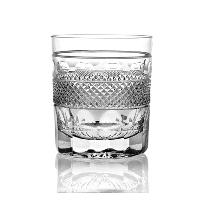 Cumbria Crystal Grasmere Cut Whisky Tumbler - Hamilton & Inches