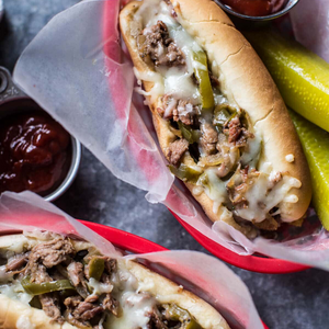 Crockpot Philly Cheesesteaks!