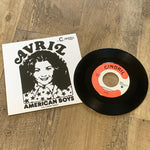 "Avril ""American Boys"" 7"" [OG stock vinyl, repro sleeve]"