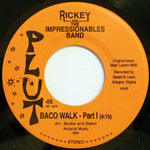 "Rickey and The Impressionables Band ""Baco Walk"" 7"""