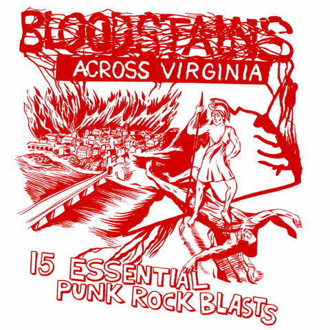 "V/A ""Bloodstains Across Virginia"" LP"