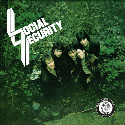 "Social Security ""I Don't Want My Heart to Rule My Head"" 7"""