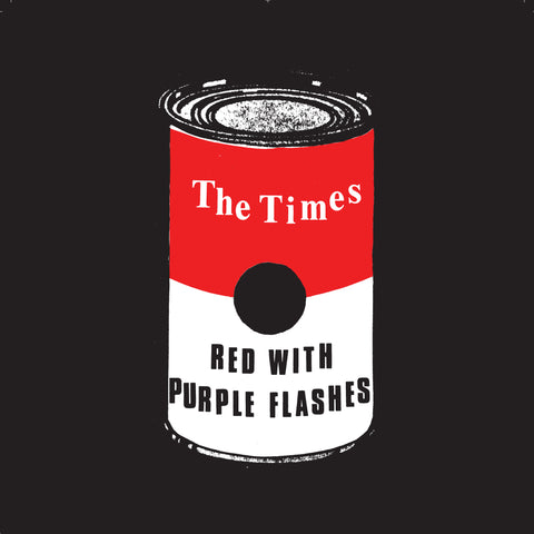 "Times, The ""Red with Purple Flashes"" 7"""