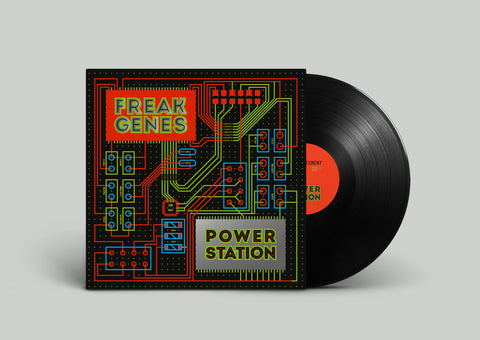 "Freak Genes ""Power Station"" LP *Preorder: Black vinyl*"