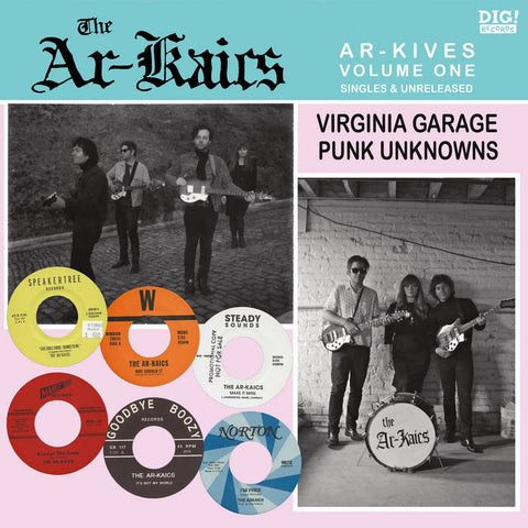 "Ar-Kaics, The ""Ar-Kives Vol. 1"" LP"