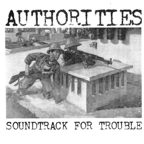 "Authorities ""Soundtrack for Trouble"" 7"""