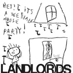 "Landlords, The ""Hey! It's A Teenage House Party!"" LP (Transparent Orange vinyl)"