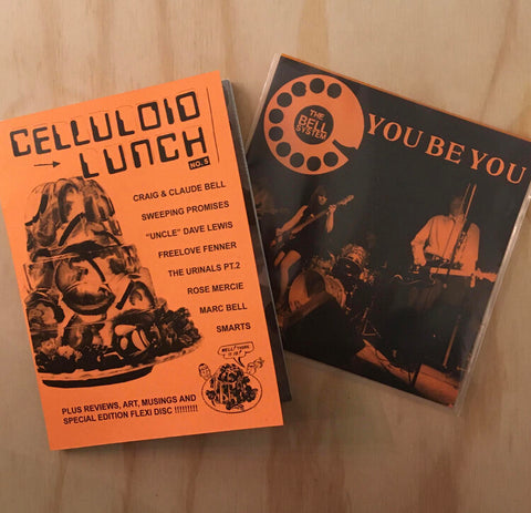 "Celluloid Lunch #5 w/ The Bell System 7"" flexi"