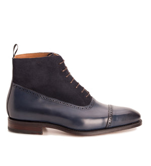 101533 - NAVY NATURCALF & NAVY SUEDE - E