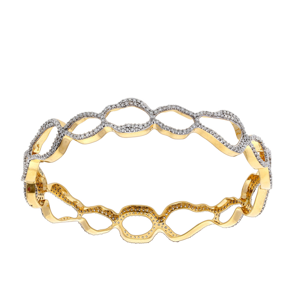 Elements Curvestone Diamond Bangle