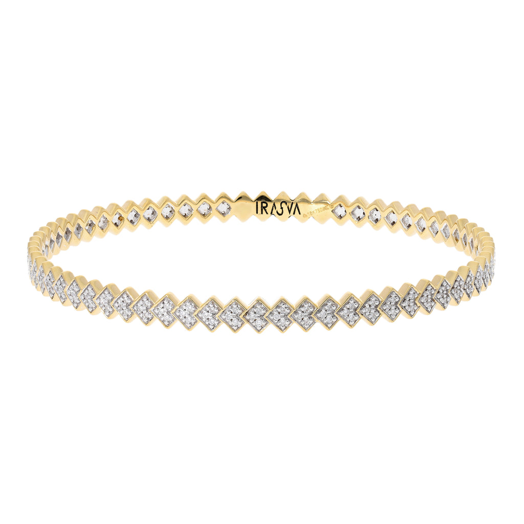 Soltera Diamond Bangle