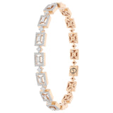 Movement Diamond Bangle