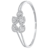 One Twig Diamond Bangle
