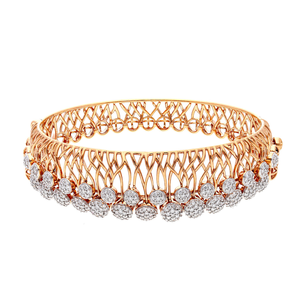 Starring You Dress Circle Diamond Bangle