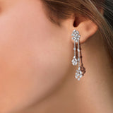 Scatter Waltz Chimes Diamond Earrings