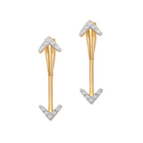 Calamus Diamond Earrings
