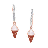 Cone Diamonds Hoops