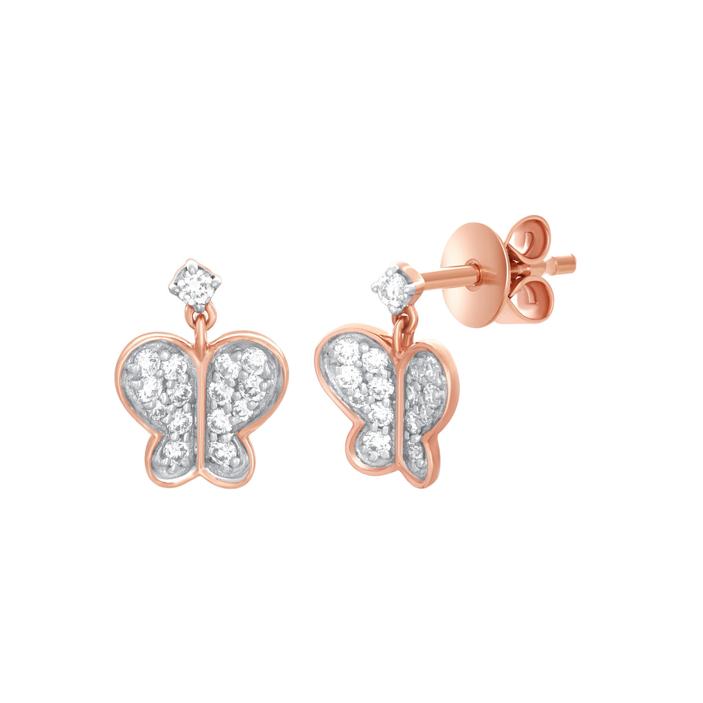 Flitty Diamond Earrings