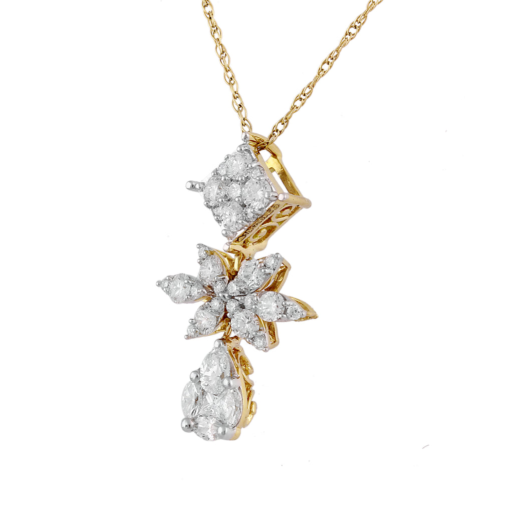 Atzi Diamond Pendant