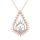 Scatter Waltz Flicker Diamond Pendant