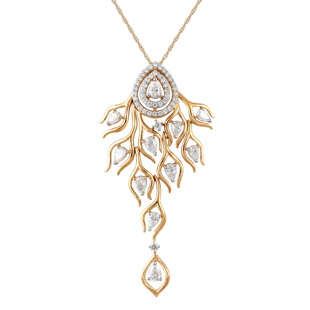 Skyward Bound Trailblazer Diamond Pendant