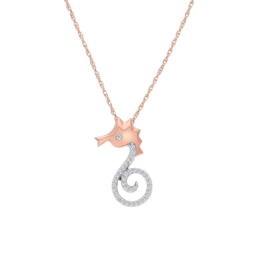 Sealife Diamond Pendant