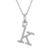 K Diamond Pendant