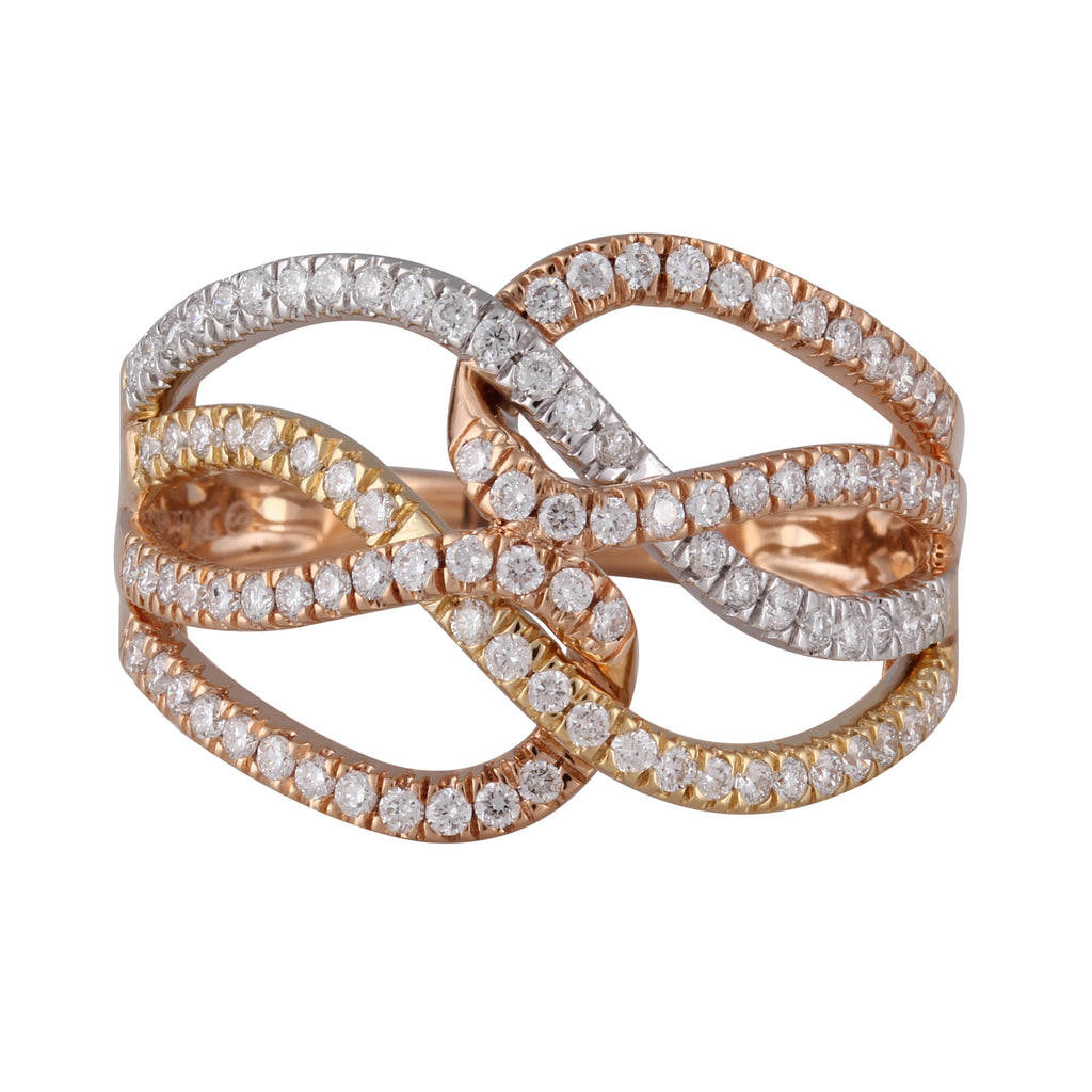 Intricara Diamond Ring