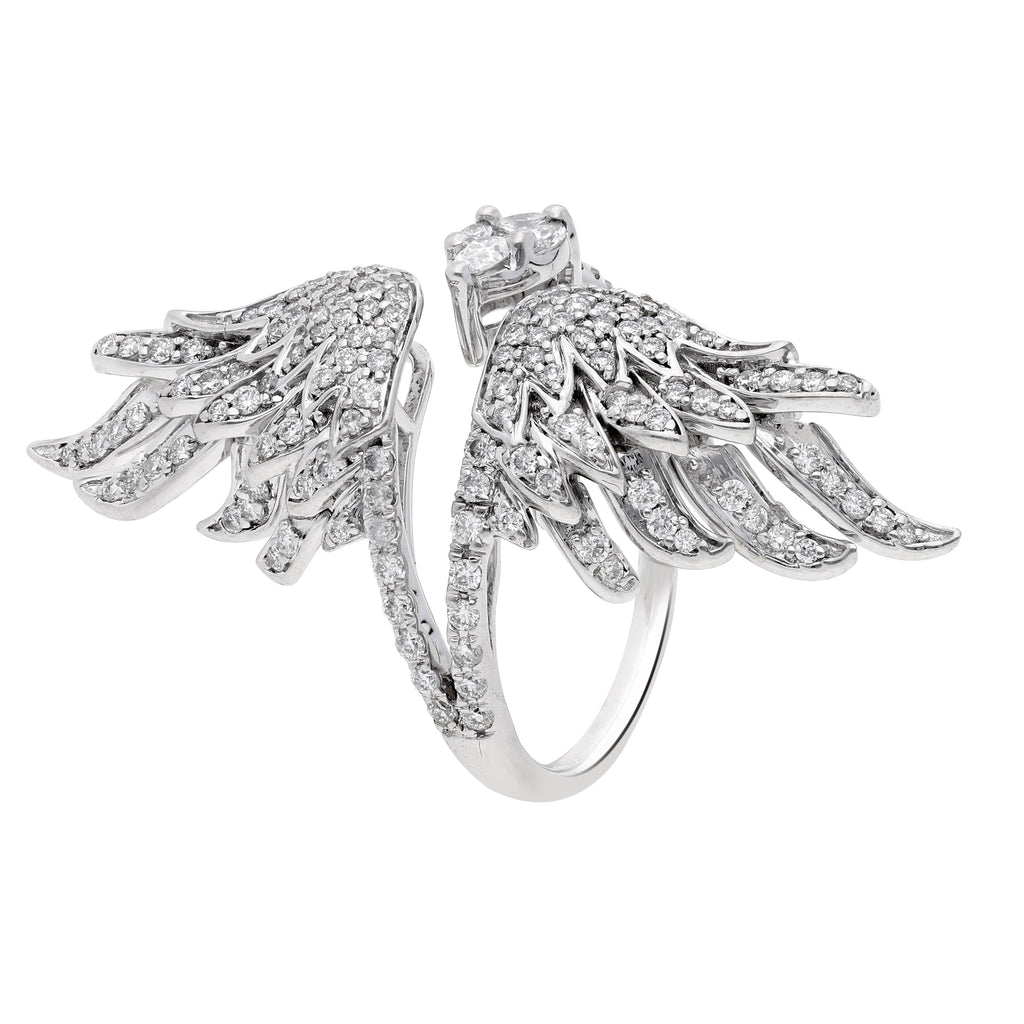 Skyward Bound Hawk Diamond Ring