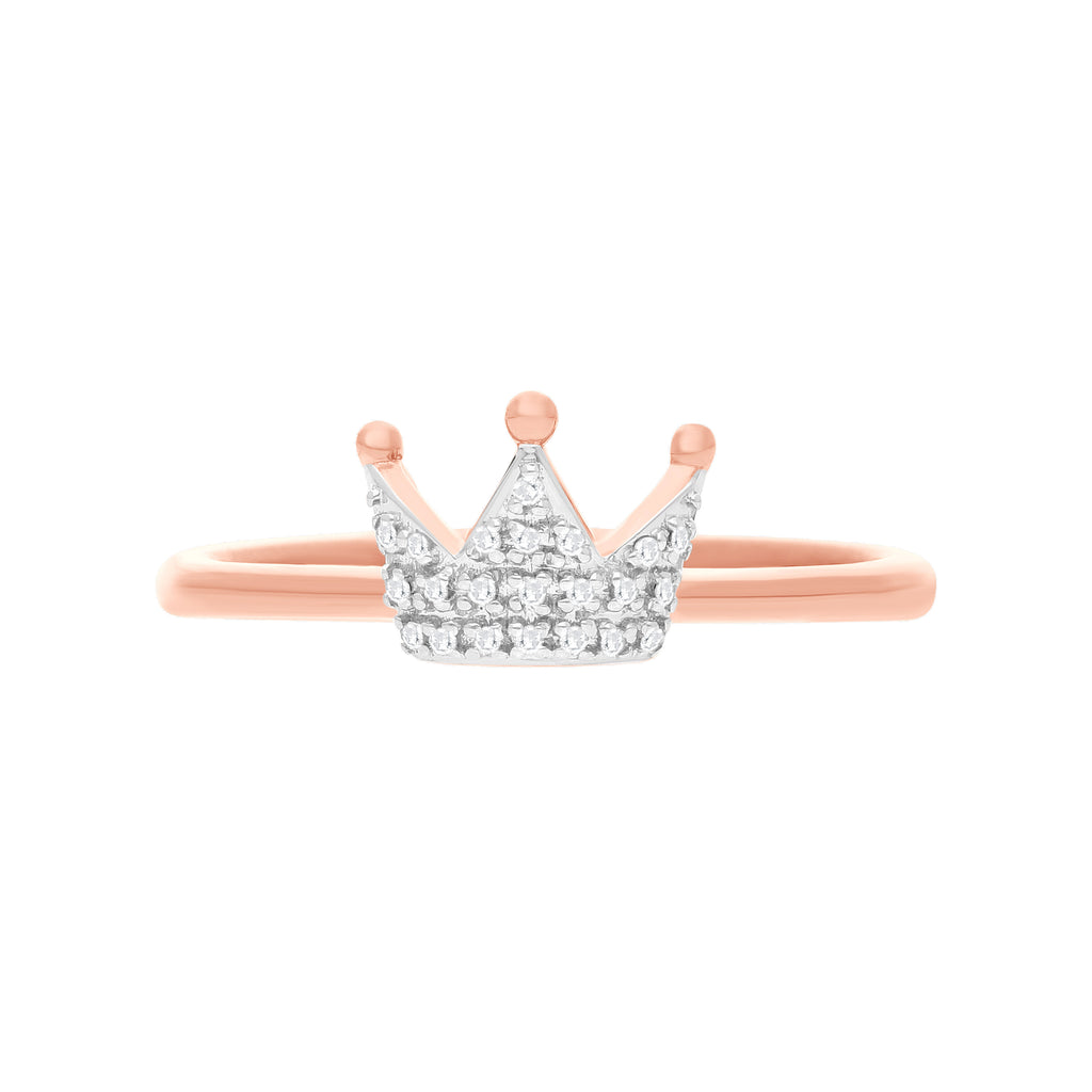 Tiara Diamond Ring